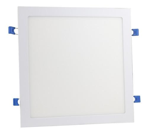 plafon led quadrado painel embutir luminaria  25w oferta