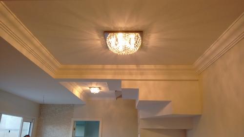 plafon lustre de cristal 23cm lavabo corredor hall sala 960