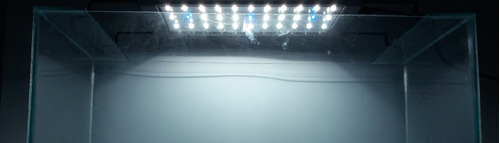 plafon luz led para acuarios f90 hasta 120 lts