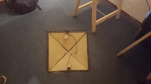 plafón o artefacto de techo.