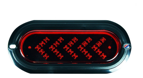plafon rectangular estrobo rojo de led varios modelos dahua