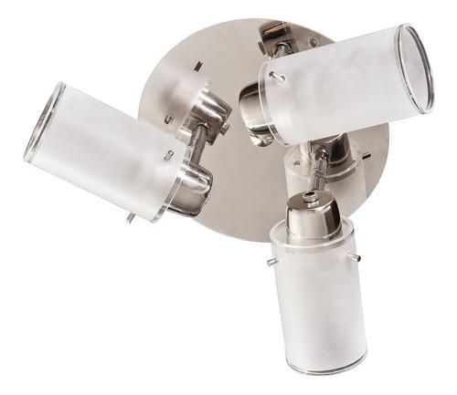 plafon redondo 3 luces  direccionales lamparas led buena luz