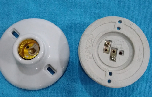 plafon socate receptaculo lampara de cerámica
