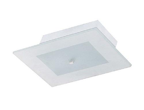 plafon teto parede prisma g de sobrepor alumínio e vidro
