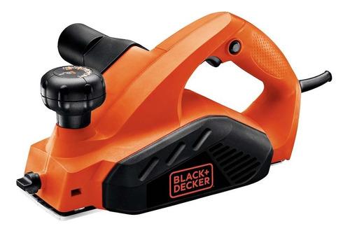 plaina elétrica 650w 10 ajustes 16.500rpm black+decker 7698