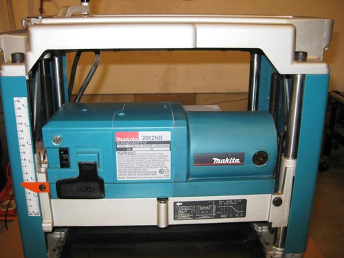 plaina elétrica desengrosso 1.650w 220v 2012nb makita