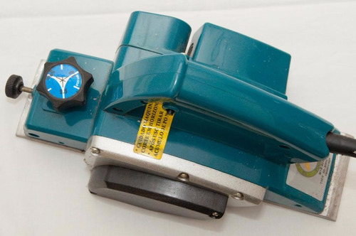 plaina elétrica industrial 110v  750w com laminas