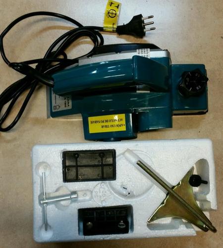 plaina elétrica industrial 750w  profissional similar makita