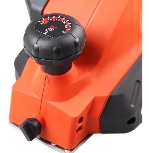 plaina elétrica profissional 3.1/4'' 650w 7698 black decker