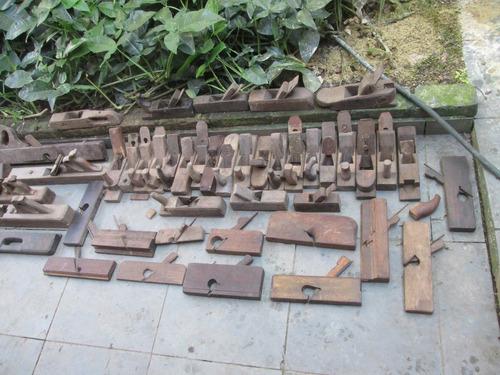plainas - ferramentas antigas de marceneiro/carpinteiro.