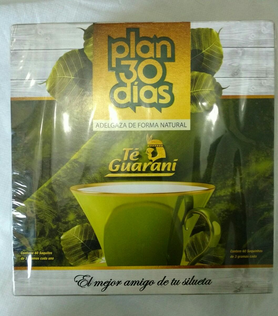 Plan 30 Dias Kit Com Té Guaraní Chá .  Promoção  Original - R  35 3d03d2c7eda53