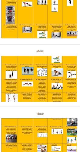 plan de entrenamiento hiit #yoentrenoencasa
