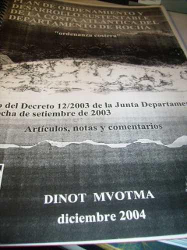 plan de ordenamiento costa de rocha- dic 2004