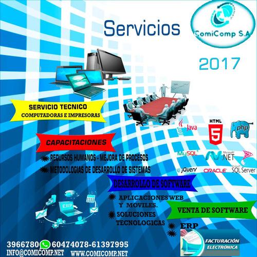 plan empresarial servicio tecnico de computadoras laptop, pa