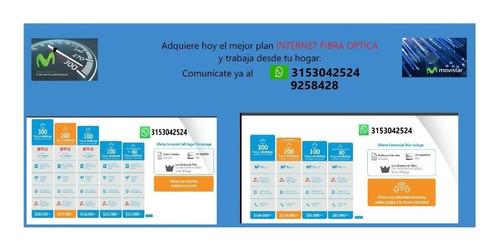 plan internet hogar fibra óptica