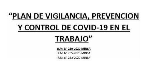 plan para la vigilancia prevención y control covid-19