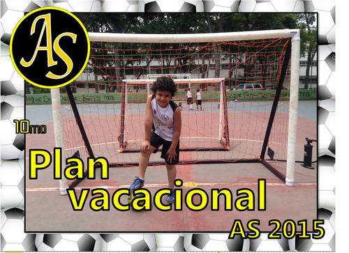plan vacacional de fútbol as 2018