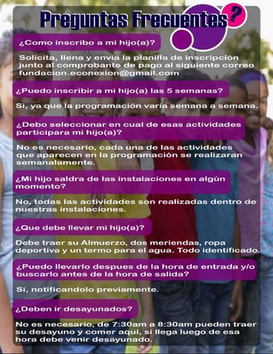 plan vacacional valencia de arte deporte auxilios medicos