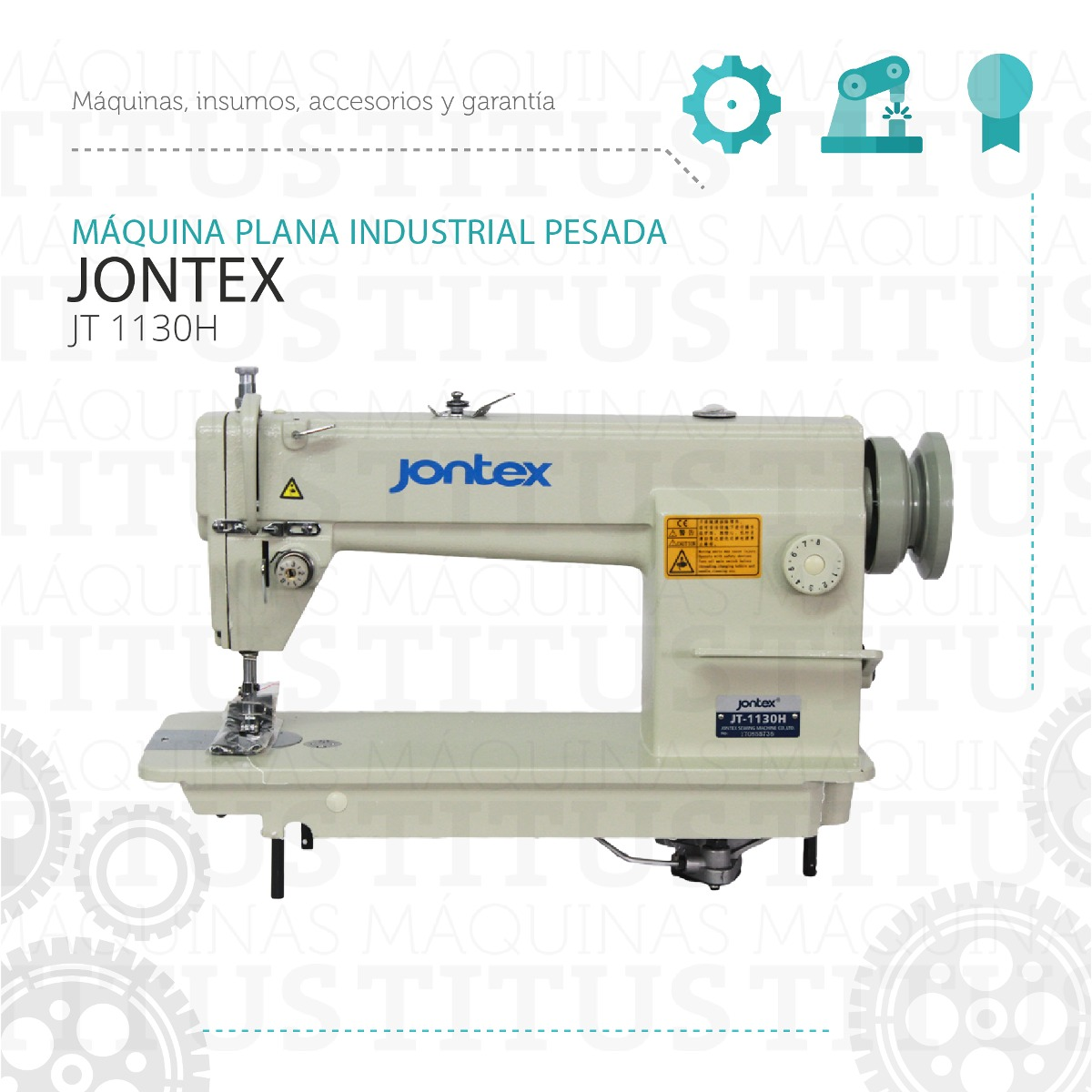 Plana Industrial Jontex Jt 1130h Maquina De Coser Pesada