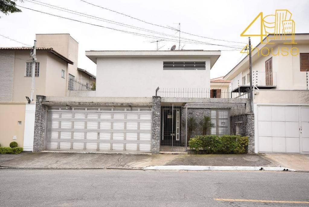 planalto paulista - sobrado ac 271m²  terreno 140m²  04 dorms (2 suítes)  03 vagas na avenida ireré para venda. - so0066