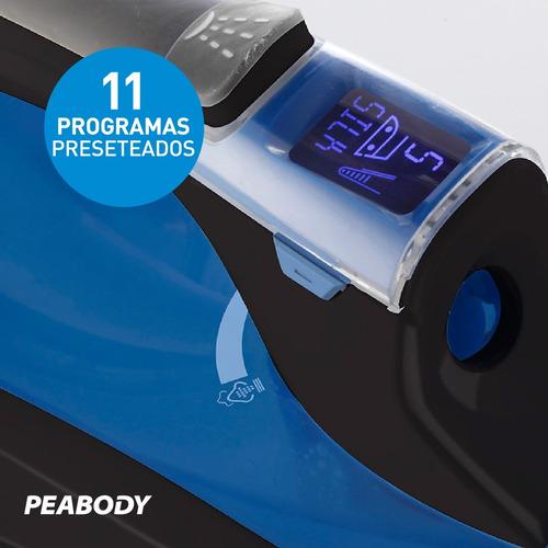 plancha a vapor digital suela cerámica peabody pe-pvd35 *