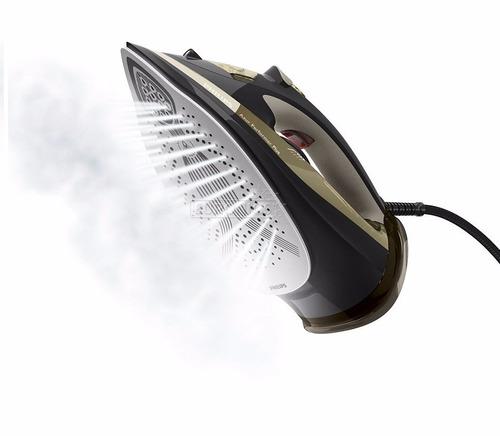 plancha a vapor philips 2600w high-end con base gc4527