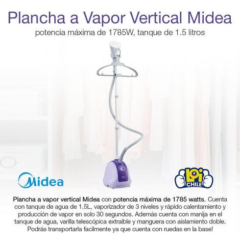 plancha a vapor vertical midea