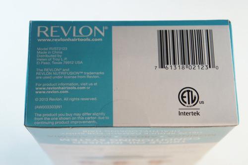 plancha alaciadora cabello revlon triple nutrifusión 1