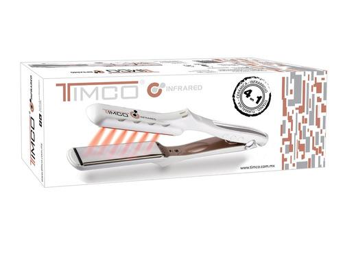 plancha alaciadora profesional infrared 4 en 1 timco lm-125b