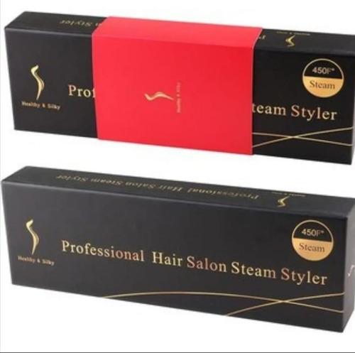 plancha alisadora professional hair salon steam styler -oil