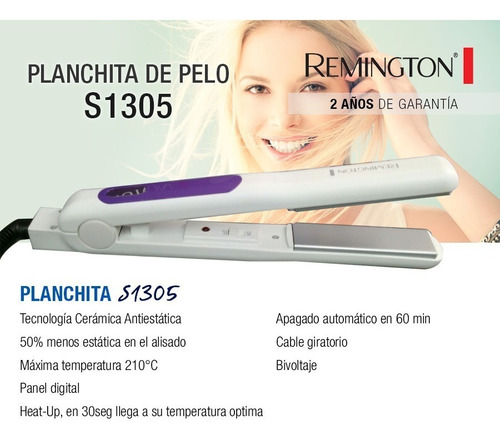 plancha alisadora remington