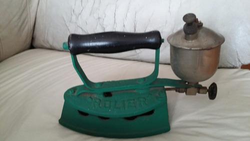 plancha antigua de fundicion a bencina