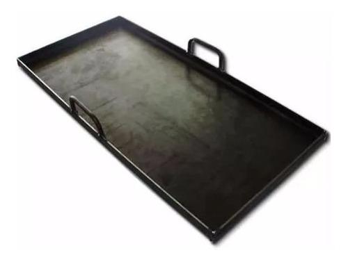 plancha bifera para cocinar a la chapa 50x25 espesor 3,2 mm