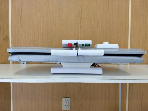 plancha blanca press tipo prensa con vapor