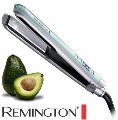 plancha cabello remington digital de aguacate original