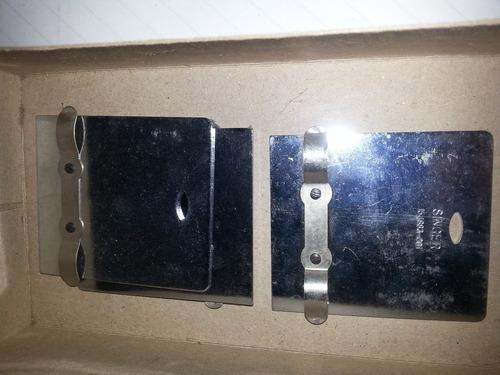 plancha  cuadrada universal para maquina de coser