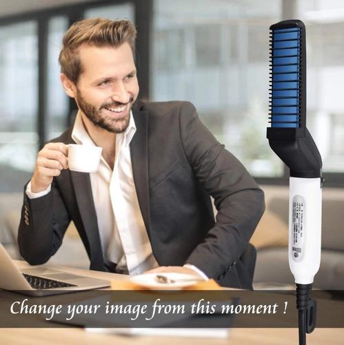 plancha de barba y cabello para hombre