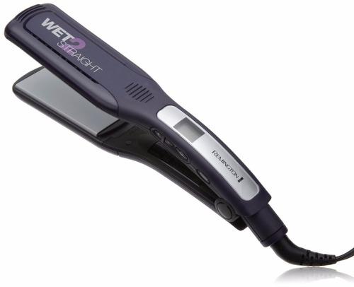 plancha de cabello remigton cabello seco humedo gruesa