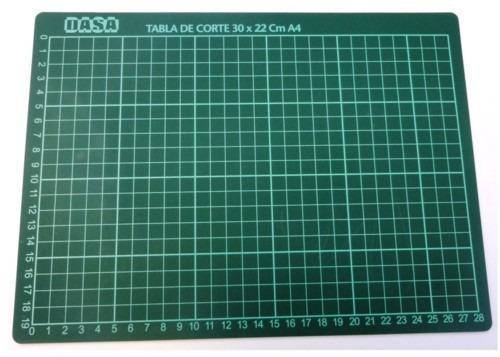 plancha de corte  a4 matisse mat cutting