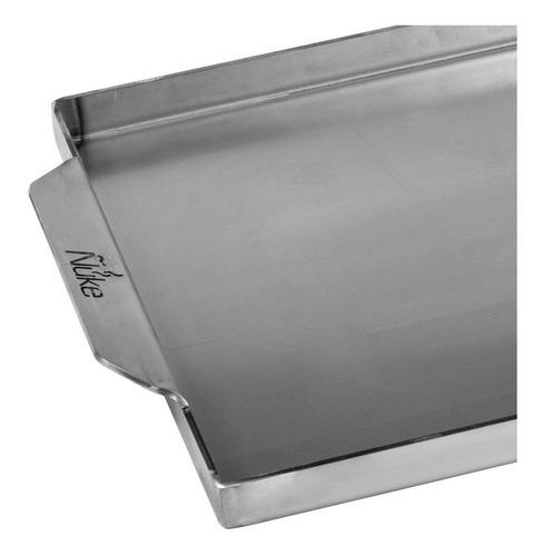 plancha de hierro cocina 55x25 - chivetera - marca ñuke