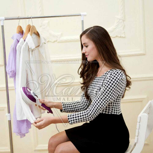 plancha de ropa vapor vertical quita pelusas arrugas prendas