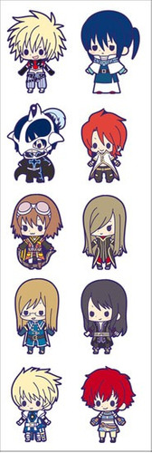 plancha de stickers anime de tales of destiny abyss xillia 2