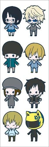 plancha de stickers de anime de durarara shizuo izaya
