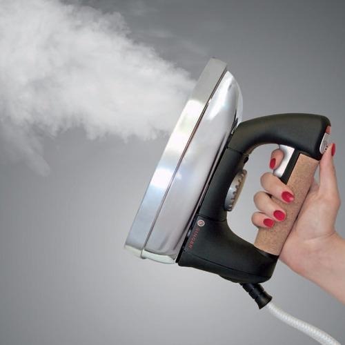 plancha de vapor central con caldera singer profesional