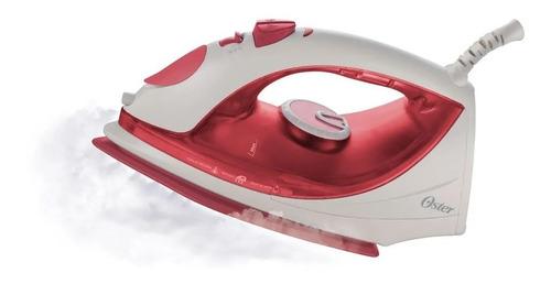plancha de vapor con antiadherente roja oster gcstbs5904