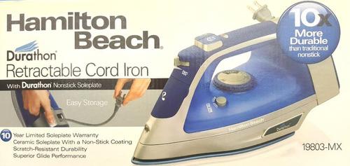plancha de vapor hamilton beach durathon envio gratis !!!