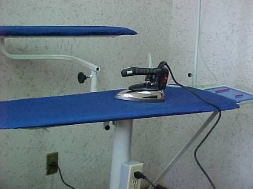 Plancha de vapor industrial lavanderia marca star for Plancha industrial