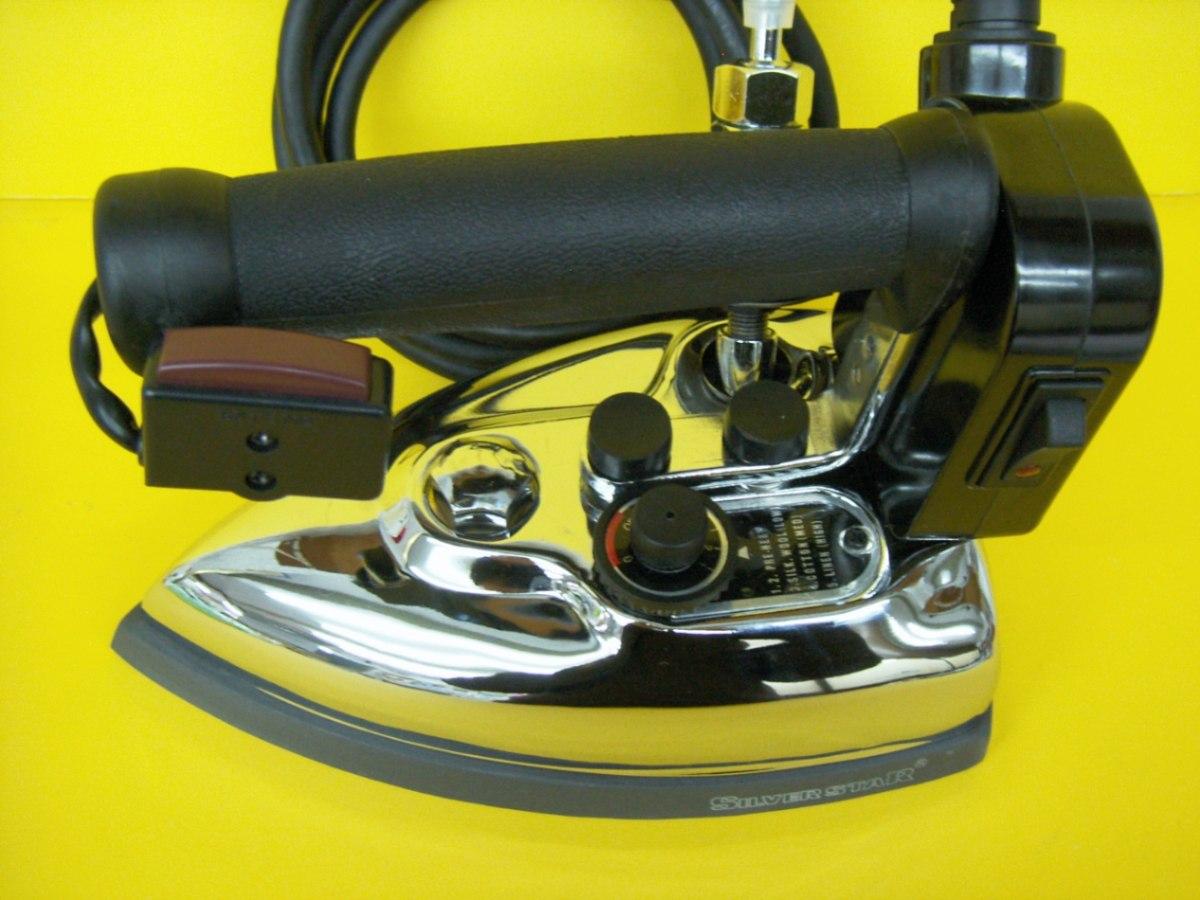 Plancha de vapor marca silverstar tintoreria y lavanderia for Plancha industrial