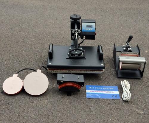 plancha e impresora sublimación y transfer , maquina 5 en 1