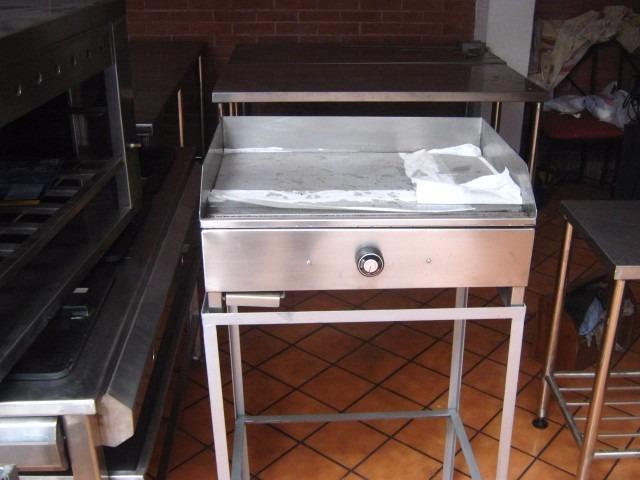 Plancha freidora acero inoxidable a gas para restaurantes - Plancha de acero inoxidable precio ...